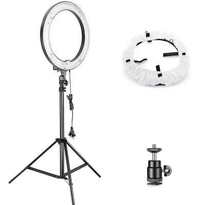 Neewer 75w (600w) Camera Photo Studio Dimmable Ring Fluorescent Flash Light Kit