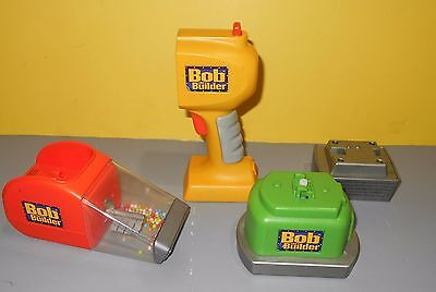 Learning Curve Bob The Builder Talking 2-in-1 Power Tools Set Sander & Vacuum