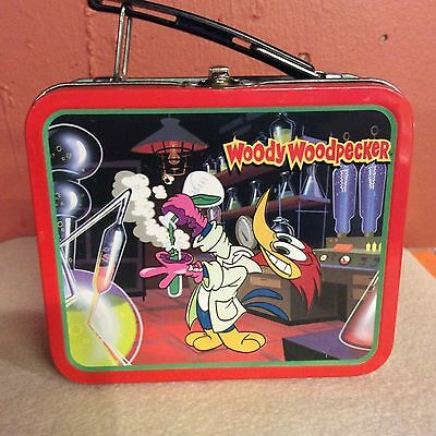 1997 Small Woody Woodpecker Collectible Lunch Box