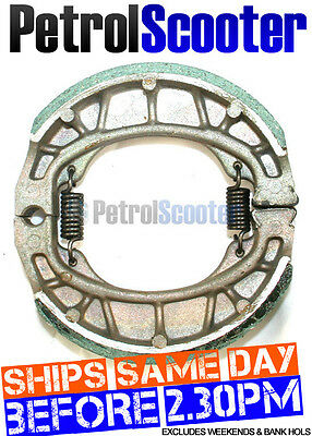 Chinese Scooter BRAKE SHOES REAR Common Size For Bikes Pictured In Advert