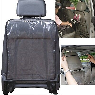 Black Car Auto Seat Back Protector Cover For Children Kick Mat Mud Clean Hot