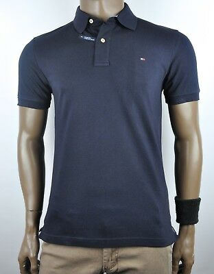 Genuine Tommy Hilfiger Jacob Solid Polo Shirt For Men - Slim Fit