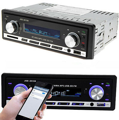 DC 12V Car Radio Bluetooth V2.0 SD USB MP3 Player FM Receiver Car Stereo Player