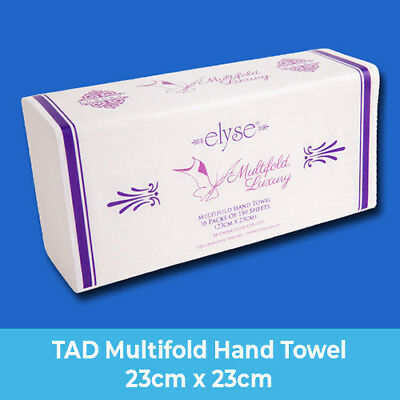Elyse TAD MULTIFOLD Hand Towels 150 Sheets 16 Packs/Ctn