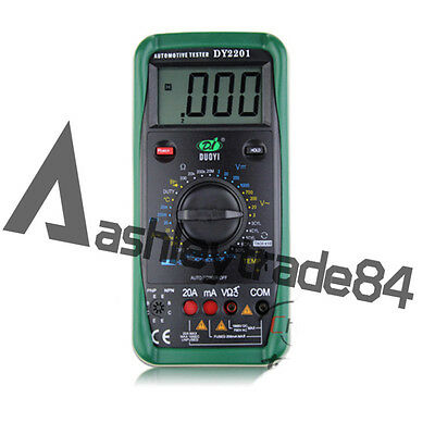 1PCS NEW DY2201 Automobile Automotive Repairing Multimeter Mete