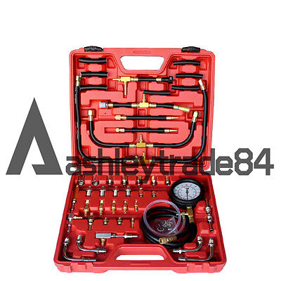 New TU-443 Manometer Fuel Pressure Gauge Engine Fuel Injection Pump Tester Kit
