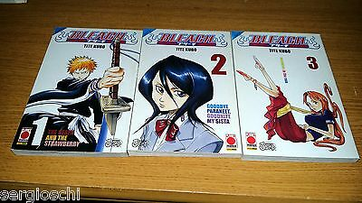 Bleach 1 2 3-Tite Kubo-Sequenza Completa-Planet Manga-Mn52