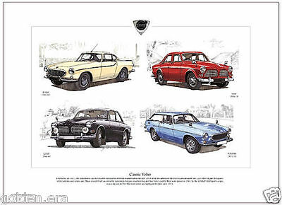 Volvo Amazon 121 122S 123Gt  Estate Wagon Coupe Four Door Complete Story Book