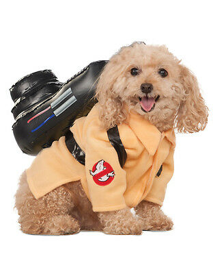 "Ghostbusters Movie Dog Pet Costume,Small, Neck to Tail 11"", Chest 17"""
