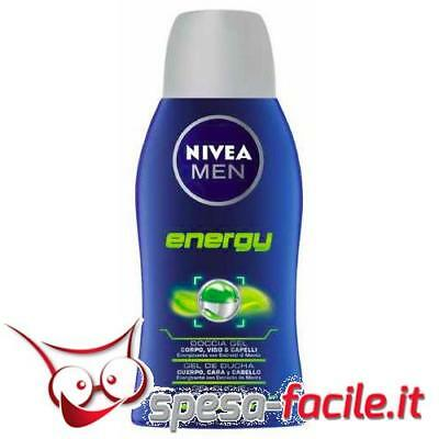 Nivea Men Doccia Gel Energy 50Ml