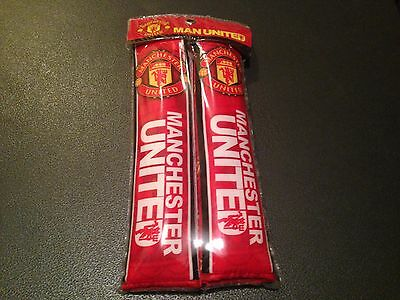 Manchester United Seatbelt Covers
