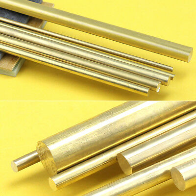 4/6/8/10/12mm Brass Pin Bar Gold Hardware Solid Round Rod for DIY  Machining