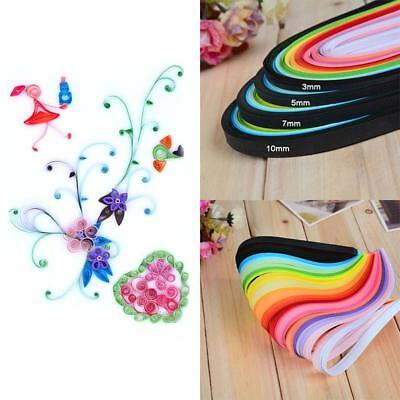 260pc 26 Colors Paper Quilling Paper DIY Decor Pressure Relief Gift Manualidades