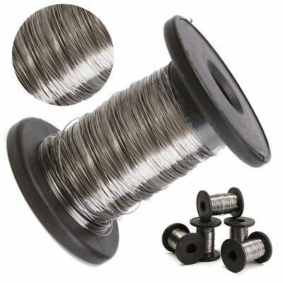 0.2mm-0.6mm 30M Stainless Steel Roll Wire Single Bright Hard Wire Cable Rope