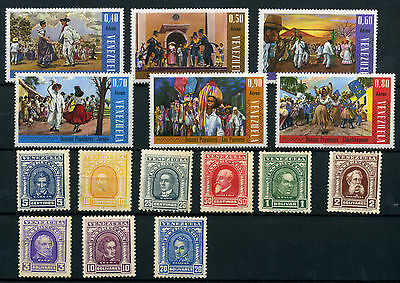 Venezuela Timbre Taxe Small Lot Of  See Photo -  Mh D371/72