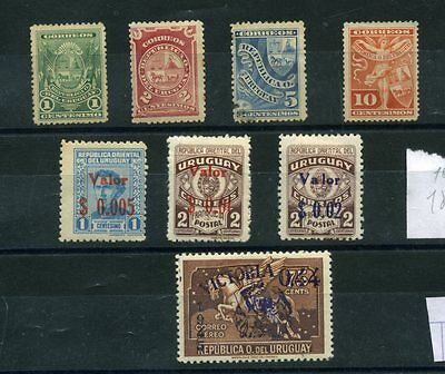 Uruguay Small Lot Of  See Photo -  Mh D397/98