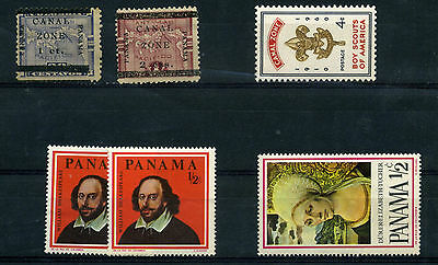 Panama  See Photo -  Mh D391/92