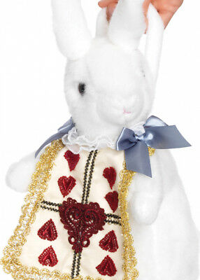 Alice In Wonderland Style White Rabbit Purse