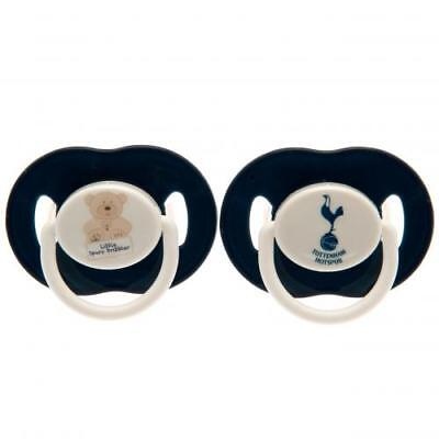 Tottenham Hotspur Soothers Dummies Pacifier Baby Gift Official Licensed Product