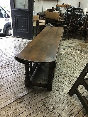 Enormous 19thC Wake Table