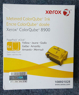 NEU & Original Xerox 108R01028 Yellow Gelb ColorQube 8900 Patrone Color-Stix