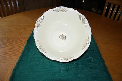 "Vintage Homer Laughlin ""Virginia Rose"" serving Bowl"