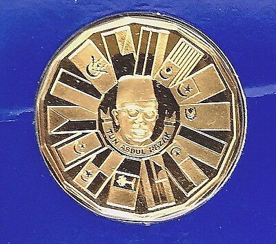 1976 FM MALAYSIA 200 RINGGIT Gold Proof Coin (0.2112 Oz)   KM#:18