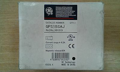 New GE General Electrics GPS1BSAJ Motor starter/On-Off switch/Overload 4-6.3A