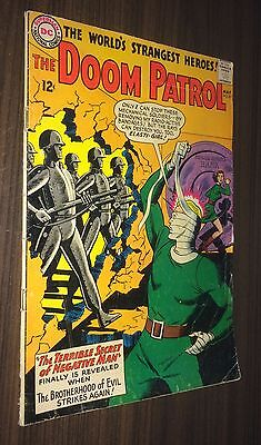 DOOM PATROL #87 -- May 1964 -- Bruno Premiani -- VG+ Or Better