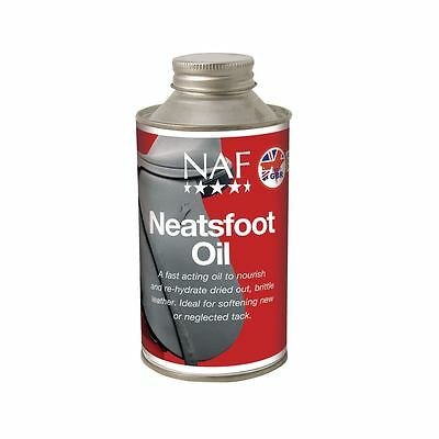 Natural Animal feeds Neatsfoot HUILE équin cheval cuir soin