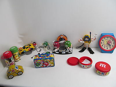 Lot Of M&M Collectibles
