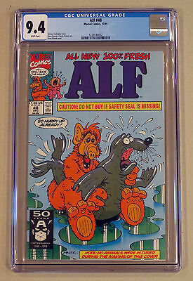Alf 48 - CGC 9.4 NM White Pages - Seal Breaking Cover