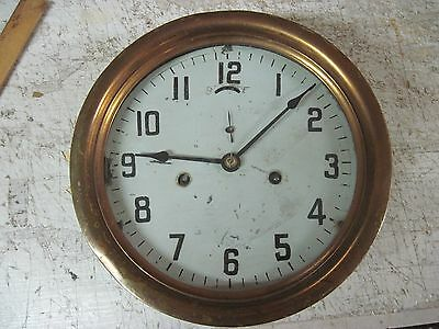 Ships Clocks Vintage-Brass And Iron,  Early