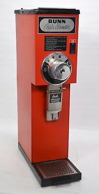 Bunn G3 3 lb. Bulk Coffee Bean Grinder Commercial Retail Grocery Roaster Red