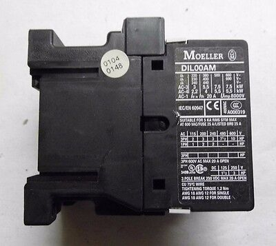 Klockner Moeller 230V Contactor Dil00Am Part No. Dil00Am