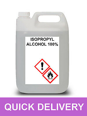5 Litre Pure 99.9% Isopropanol Ipa Solvent 5L Cleaner Isopropyl Alcohol