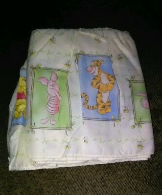 Disney Baby Sincerely Pooh Crib Dust Ruffle ♡NEW♡