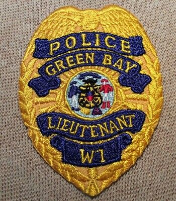WI Green Bay Wisconsin LT Police Patch