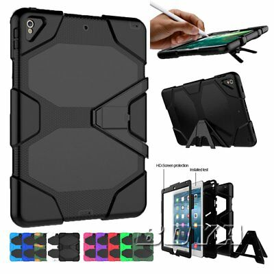 For IPad Pro 10.5 military heavy duty shockproof tablet case rugged kickstand