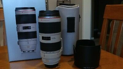 CANON EF 70-200mm F2.8L is II Lens - Mint condition