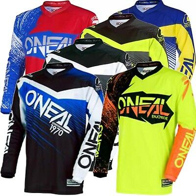 Oneal Element Adult MX Motorbike Jersey Shirt Top 2018 PLUS SIZE 3XL-4XL