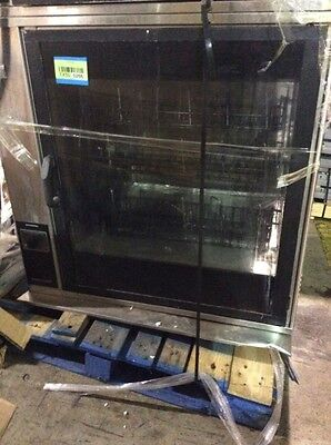 Henny Penny Scr-8 Commercial Double Stacked Electric Rotisserie Oven Complete