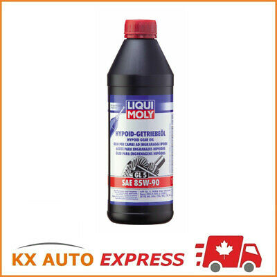 Liqui Moly Hypoid Gear Oil (GL5) High-Performance High-Pressure SAE 85W-90 1L