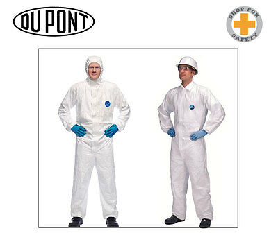 DuPont Tyvek Coverall Classic Xpert * Chemicals Asbestos * White - 10 units *