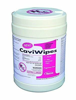 "Metrex CaviWipes1 Surface Disinfectant Wipes Canister 6x6.75"", Case of 12 canist"