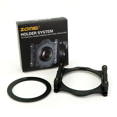 "Zomei Pro 4x4"" 100x100mm Square Filter Holder System with 82mm Adapter Ring"