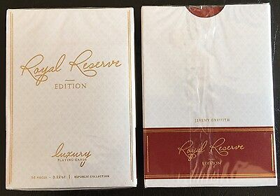 Bicycle Ellusionist Royal Reserve Edition Luxury US Playing Cards Poker Magic