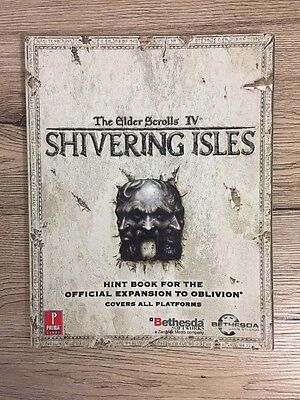 The Elder Scrolls IV: Shivering Isles Official Strategy Guide Book - 2007