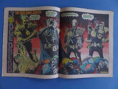 2000Ad 226 Classic Bolland Dark Judges! Centre Pages High Grade!