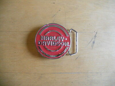Women's  Harley Davidson Belt Buckle Very Gentle Used Free Shipping